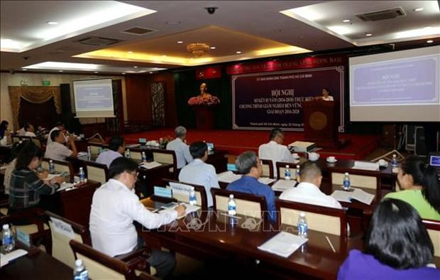 胡志明市:创新思维 制定可持续减贫政策 hinh anh 1