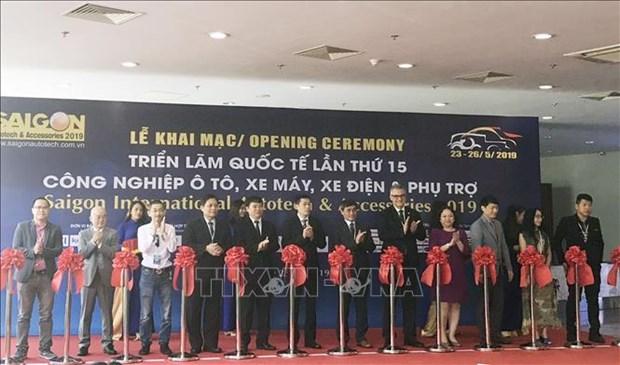 2019年越南汽车摩托车及零配件展在胡志明市开幕 hinh anh 1