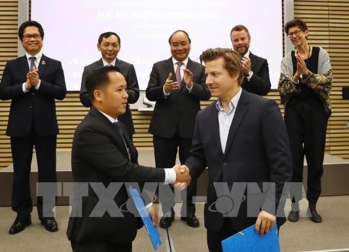 越南政府总理阮春福出席越南与挪威企业论坛 hinh anh 3