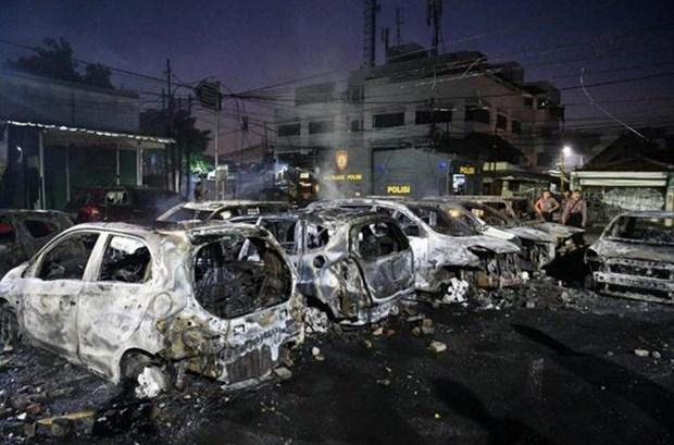 印尼公布大选结果引发骚乱 严重影响到经营活动 hinh anh 2
