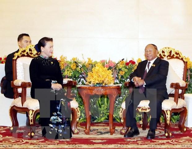 柬埔寨国会主席韩桑林即将对越南进行正式访问 hinh anh 1
