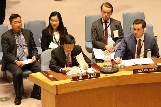越南承诺对武装冲突中平民保护问题做出贡献 hinh anh 1