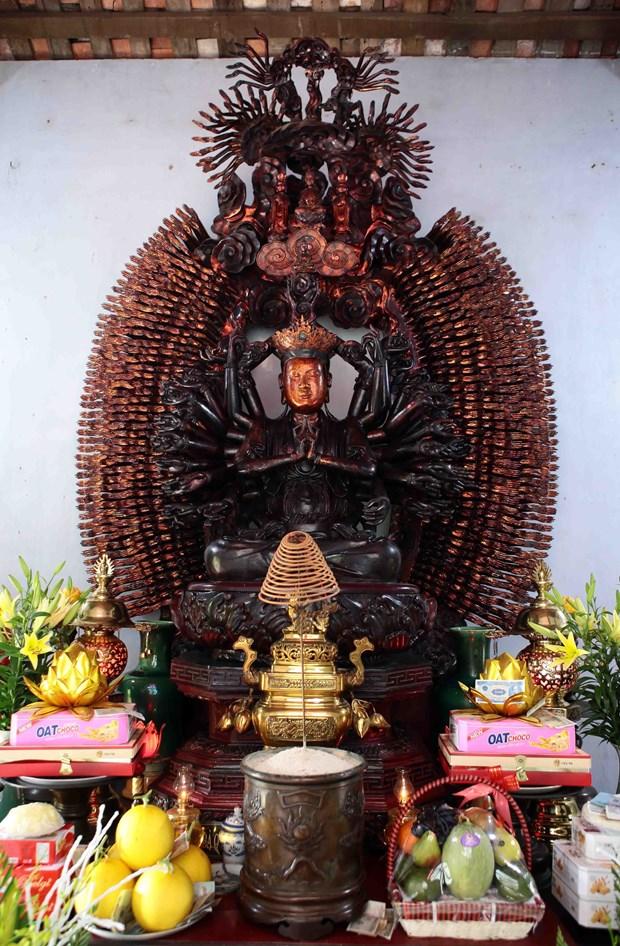 兴安省米楚寺观音像被列入越南国宝名录 hinh anh 2