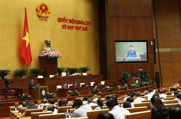 越南第十四届国会第七次会议公报(第四号) hinh anh 1