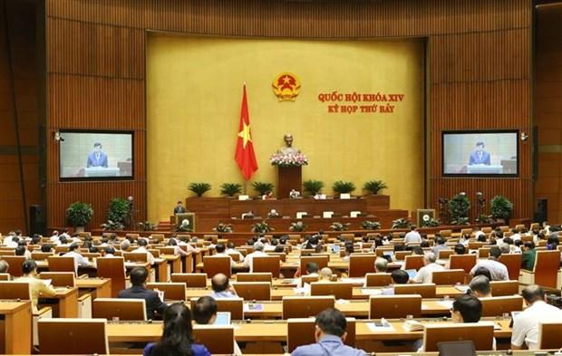 第十四届国会第七次会议继续讨论三项法案 hinh anh 1