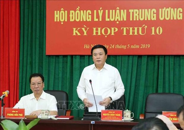 越共中央理论委员会第十六次会议在河内召开 hinh anh 1