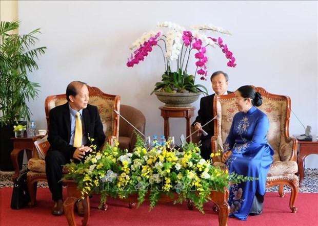 胡志明市与柬埔寨人民共同培育两国传统友谊 hinh anh 1