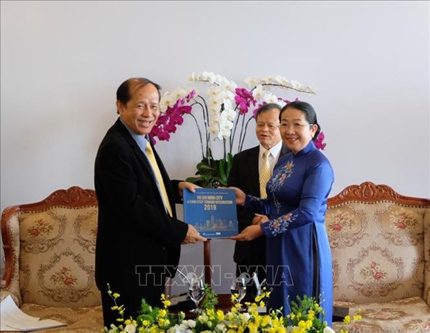 胡志明市与柬埔寨人民共同培育两国传统友谊 hinh anh 2