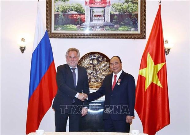 越南政府总理阮春福圆满结束对俄罗斯进行的正式访问 hinh anh 2
