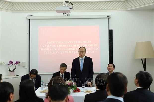 胡志明市与德国黑森州促进合作 hinh anh 1