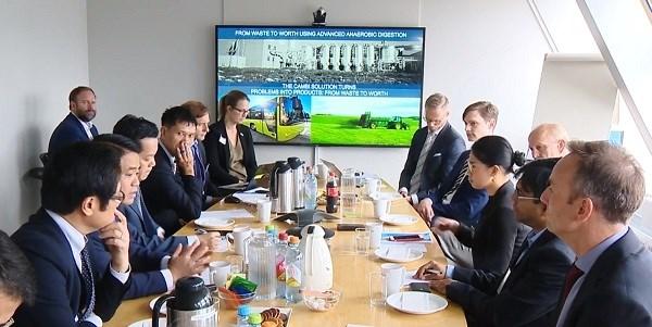 河内市在挪威寻找城市发展与管理领域的合作机会 hinh anh 1