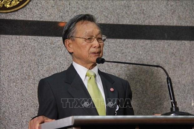 泰国前总理川·立派当选新一届国会下议院议长 hinh anh 1