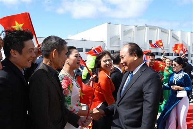 越南政府总理阮春福圆满结束对挪威王国进行的正式访问 hinh anh 1