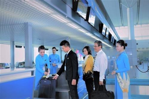 越南航空公司正式推出特殊旅客服务 hinh anh 1