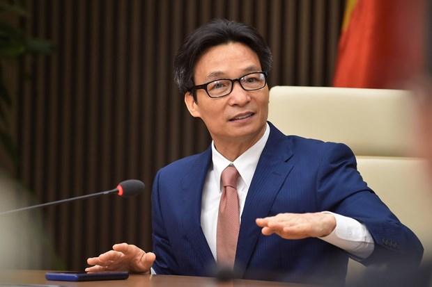 武德儋副总理会见越澳青年领导者论坛代表 hinh anh 1
