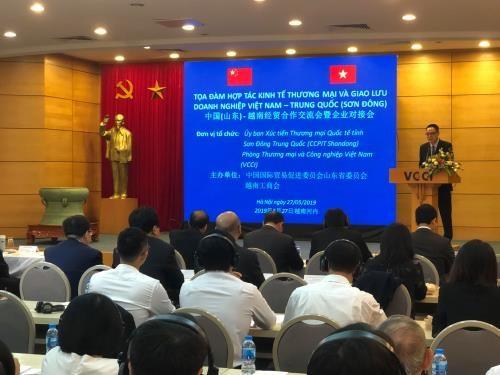 中国山东企业赴越南寻找商机 hinh anh 1