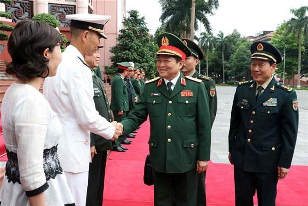 中华人民共和国国防部部长对越南进行正式访问 hinh anh 1