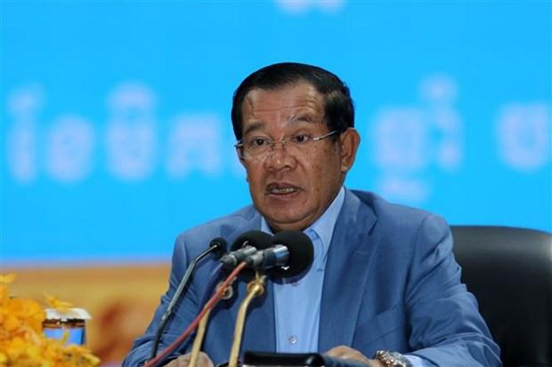 柬埔寨人民党在 第三届首都省市县区理事会选举中取得大多数选票 hinh anh 1