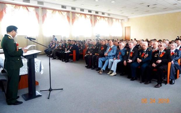 乌克兰越南老兵协会致力建设日益强大的在乌越南人群体 hinh anh 1