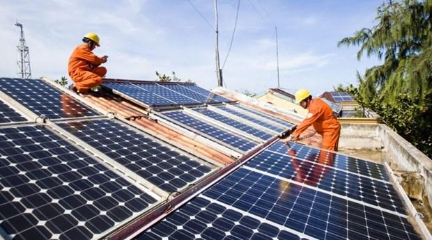 截至6月底88个太阳能发电项目进行商业运营 hinh anh 2