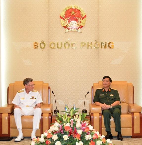 越南与澳大利亚加强防务合作 hinh anh 1