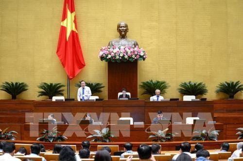 越南第十四届国会第七次会议公报(第七号) hinh anh 1