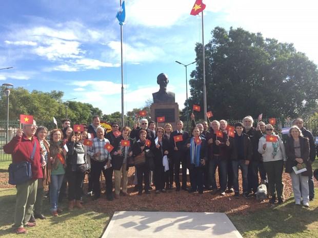 胡志明主席诞辰129周年:阿根廷人民缅怀胡志明主席 hinh anh 1