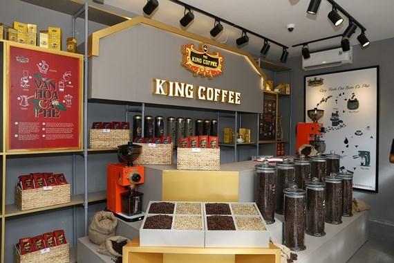 中原咖啡将在俄罗斯零售连锁店上架销售 hinh anh 1