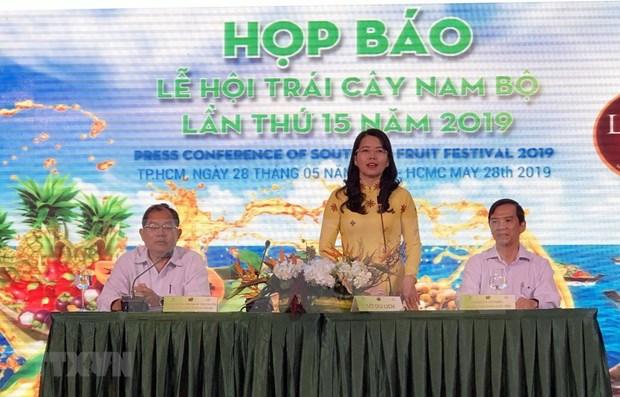 南部水果节有助于提升越南水果品牌价值 hinh anh 1