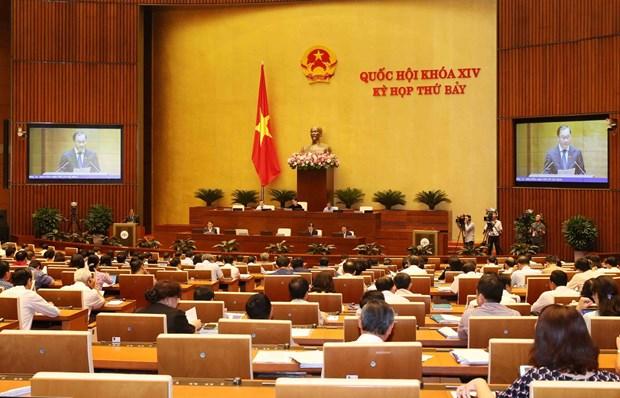 越南第十四届国会第七次会议公报(第六号) hinh anh 1