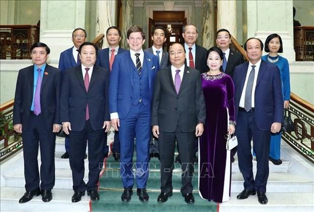 越南政府总理阮春福会见瑞典议会议长安德烈亚斯·诺伦 hinh anh 1