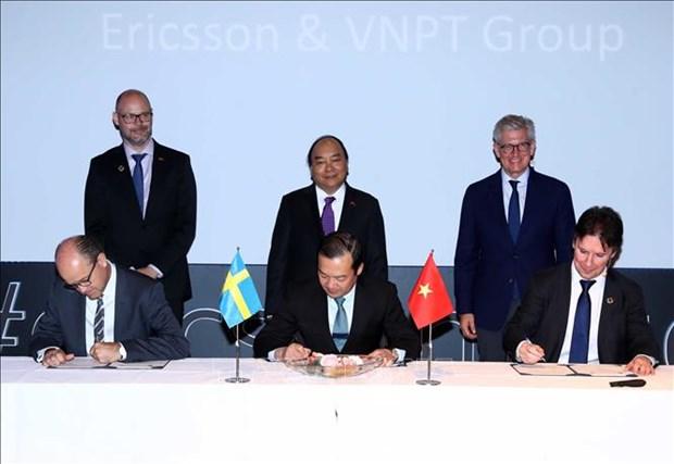阮春福总理参观瑞典部分高科技企业发展模式 hinh anh 1