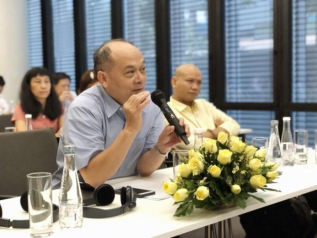 关于工商业与人权的基础研究计划亮相胡志明市 hinh anh 2