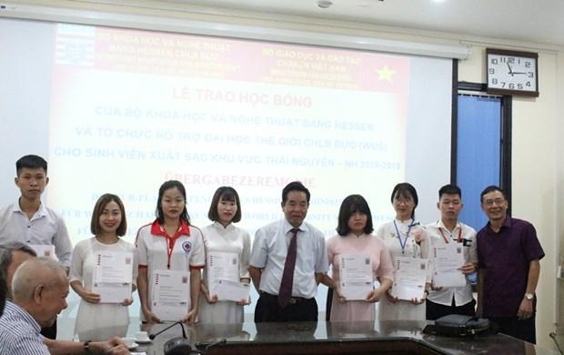 21名越南优秀大学生荣获德国黑森奖学金 hinh anh 1
