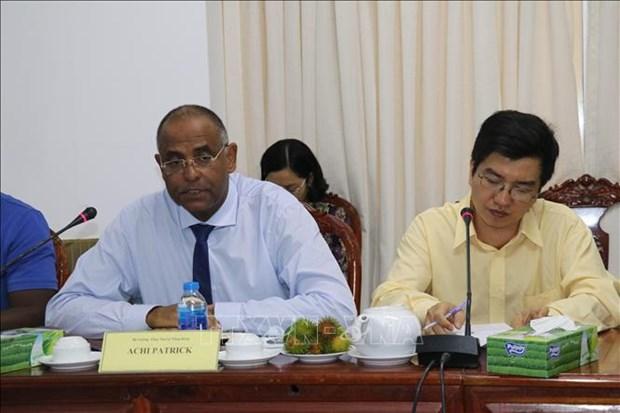 科特迪瓦共和国与芹苴市加强农业合作 hinh anh 2