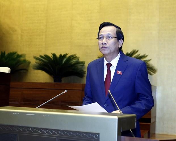 越南第十四届国会第七次会议:《劳动法》的修正旨在更好地保障劳动者和雇主的合法权益 hinh anh 2