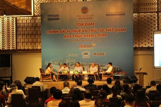 """CPTPP实施过程中的税收政策和清关手续""座谈会在胡志明市举行 hinh anh 2"