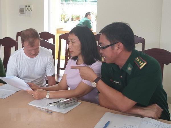 广治省:抓获被国际刑警组织发布国际通缉令的在逃犯 hinh anh 1