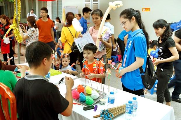 国际儿童节庆祝活动在越南全国各地纷纷举行 hinh anh 1
