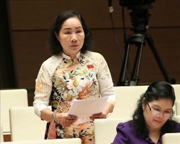 越南第十四届国会第七次会议:大力改善投资营商环境 为人民和企业创造便利 hinh anh 1