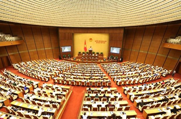 第十四届国会第七次会议:国会代表对安全秩序情况踊跃讨论 hinh anh 1