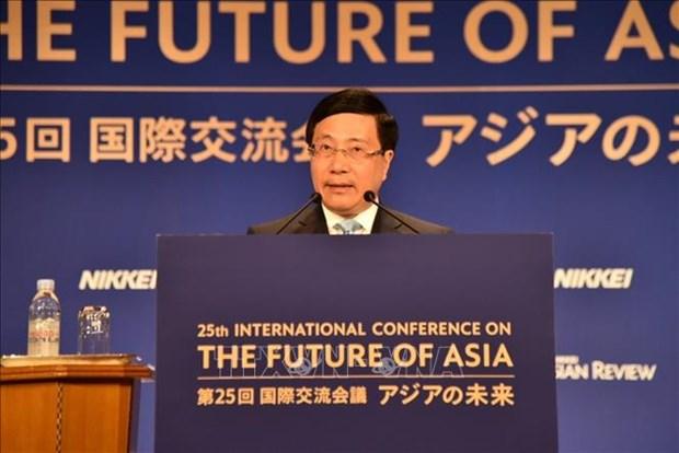 越南政府副总理范平明:世界正在进入一个充满不确定性的新时代 hinh anh 1