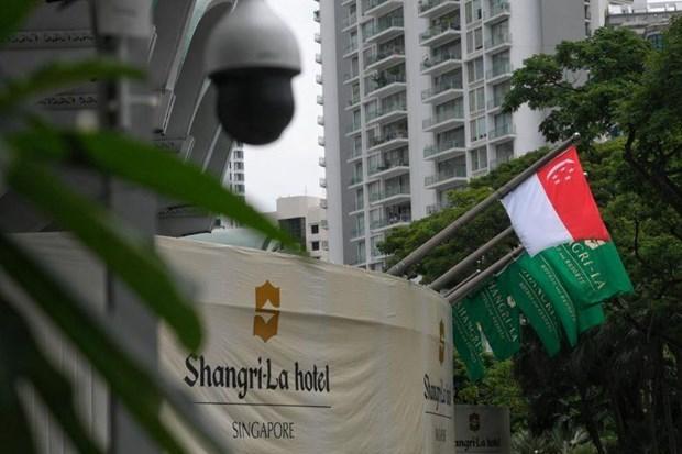 第十八届香格里拉对话会在新加坡开幕 hinh anh 1