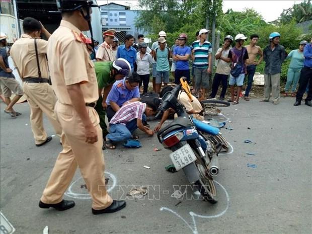 2019年前5月越南交通事故死亡人数3128人 hinh anh 1