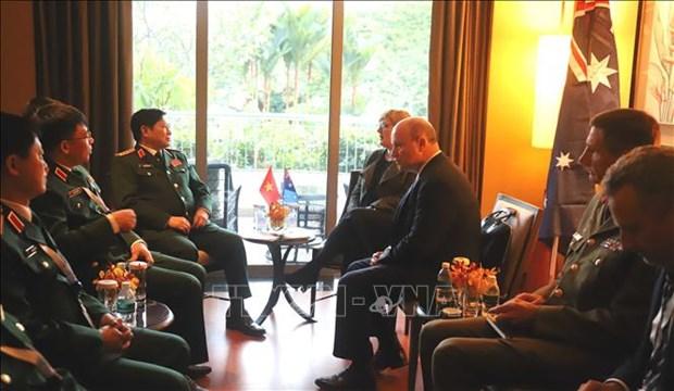 越南防长出席美国国防部长与东盟防长会晤 hinh anh 1