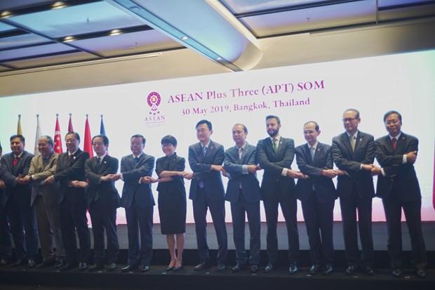 越南出席东盟与中日韩高官会和东亚峰会高官会 hinh anh 2
