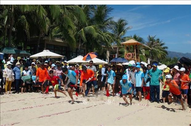 约600名残疾儿童参加第七次残疾儿童节 hinh anh 1