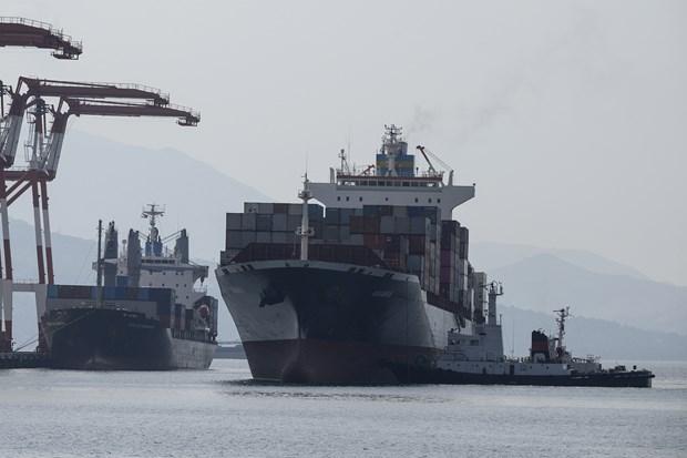 菲律宾将69个集装箱垃圾运反加拿大 hinh anh 1