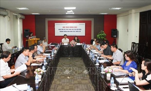 保护与弘扬越南少数民族文化价值 hinh anh 1