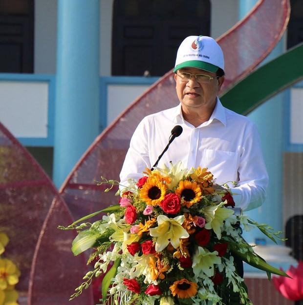 越南愿与国际社会携手保护环境 保护健康的海洋 hinh anh 1